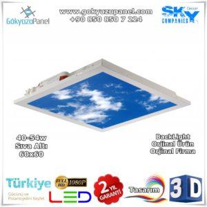 Gökyüzü Panel Sıva Altı 60x60 BackLight