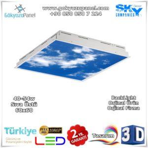 Gökyüzü Panel Sıva Üstü 60x60 BackLight