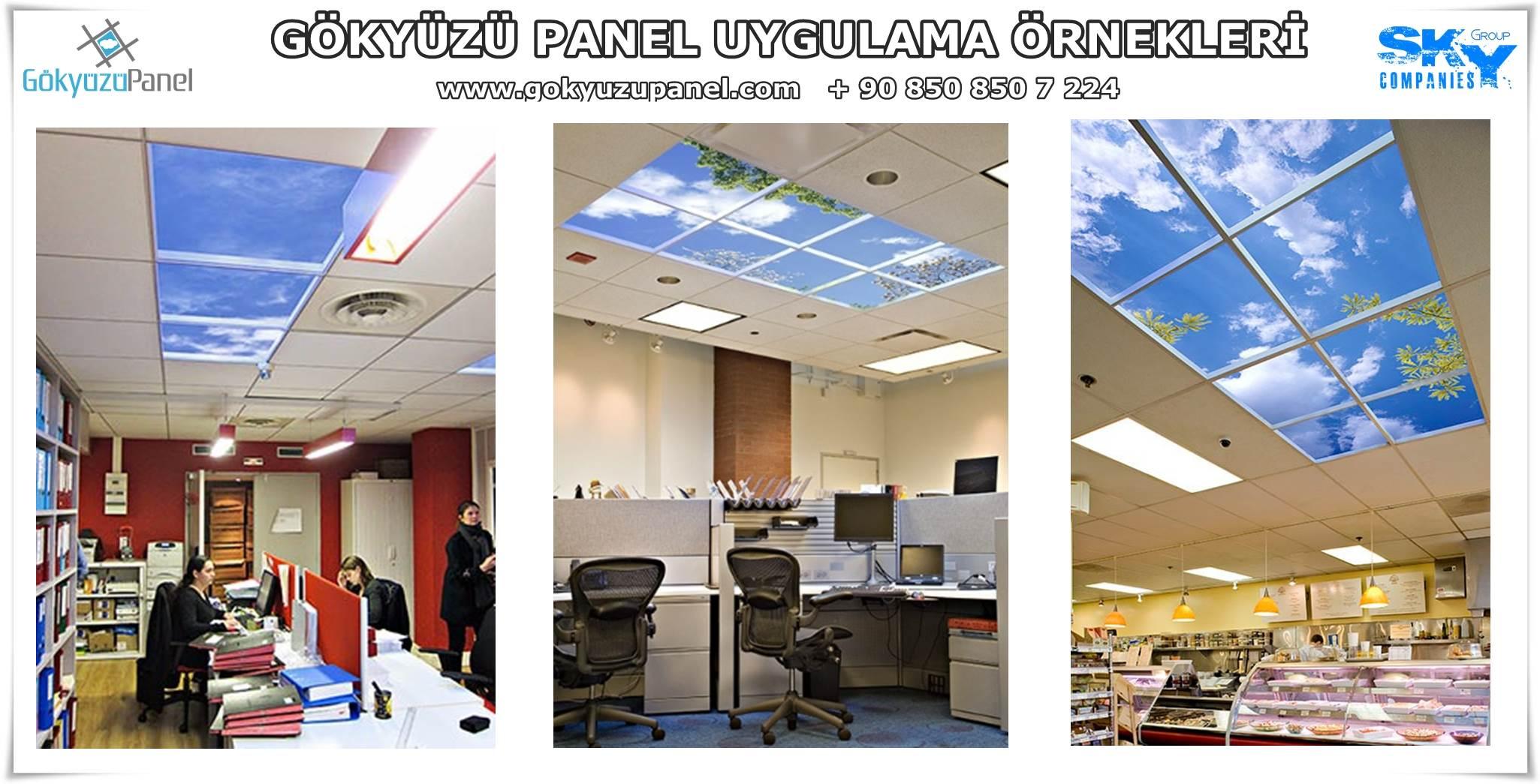 Gökyüzü Panel Uygulama Örnekleri 6