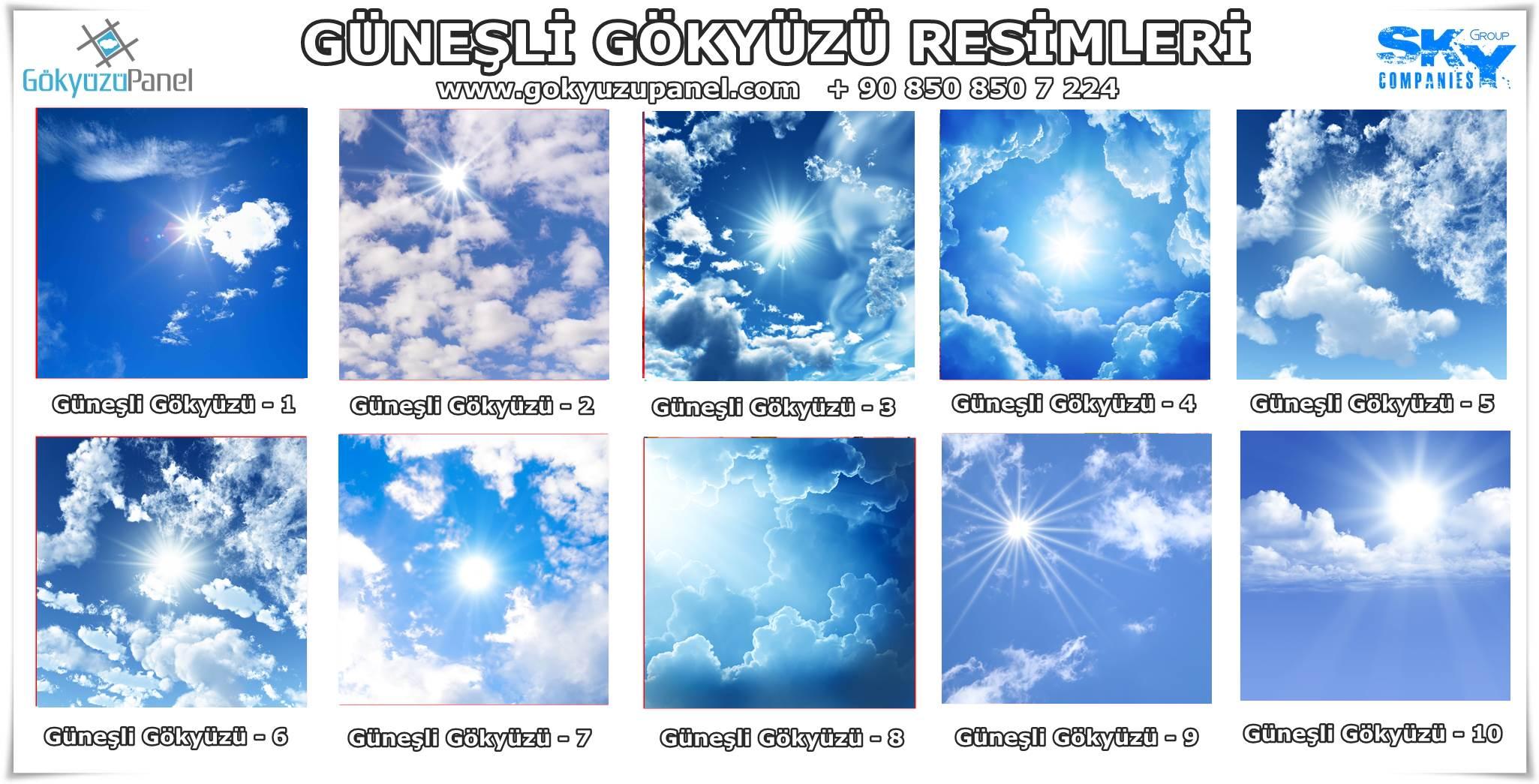 Güneşli Gökyüzü