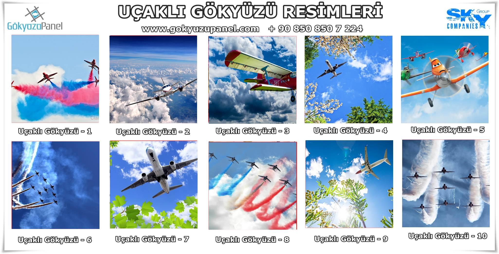 Uçaklı Gökyüzü
